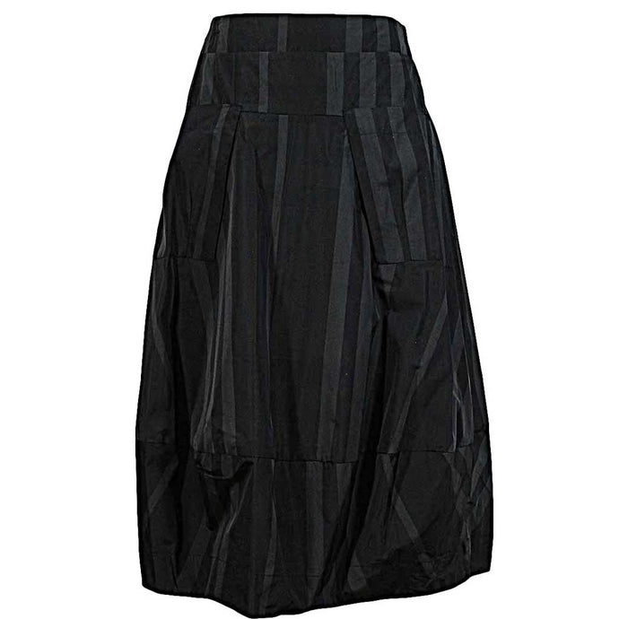 Sun Kim Stripe Midtown Skirt - Simply Bella