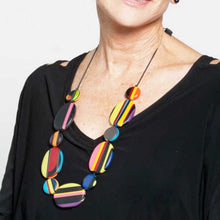 Load image into Gallery viewer, Sylka Multi Color Darcy Necklace