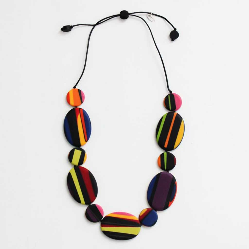 Sylka Multi Color Darcy Necklace