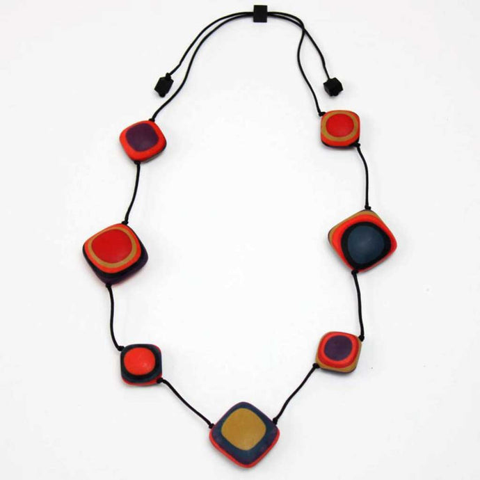 Sylka Multi Color Leigh Necklace