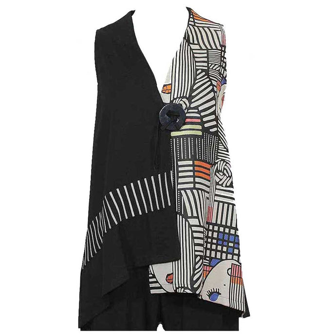 Zoe Wearable Art Vest