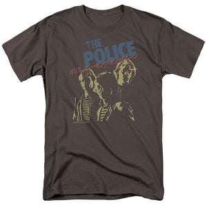 The Police Japanese Poster T-Shirt men's