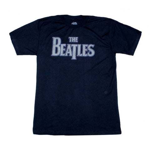 The Beatles Vintage Logo Distressed T-Shirt