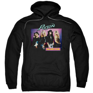 Poison Talk Dirty To Me Hoodie