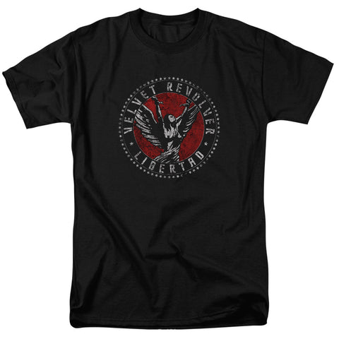 Velvet Revolver Circle Logo T-Shirt men's