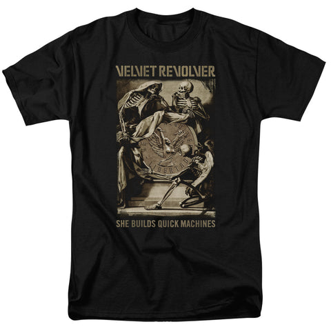 Velvet Revolver She Builds Quick Machines T-Shirts men's