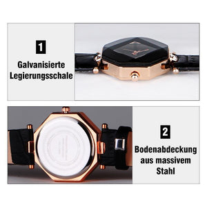 Fashion Damen Raute Armbanduhr