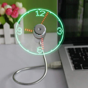 LED Ventilator, Flexibel USB Lüfter