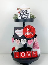 Load image into Gallery viewer, Valentine's Shelf Sitter or Tier Tray DIY kit