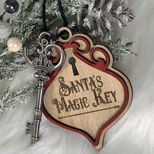 Load image into Gallery viewer, Santa's Magic Key Ornament