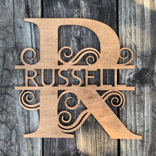 Load image into Gallery viewer, Custom Family Name Wood Sign