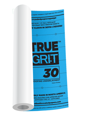 TRUE GRIT™ 30 ROOFING UNDERLAYMENT ($43.88/roll 56 roll pallet)