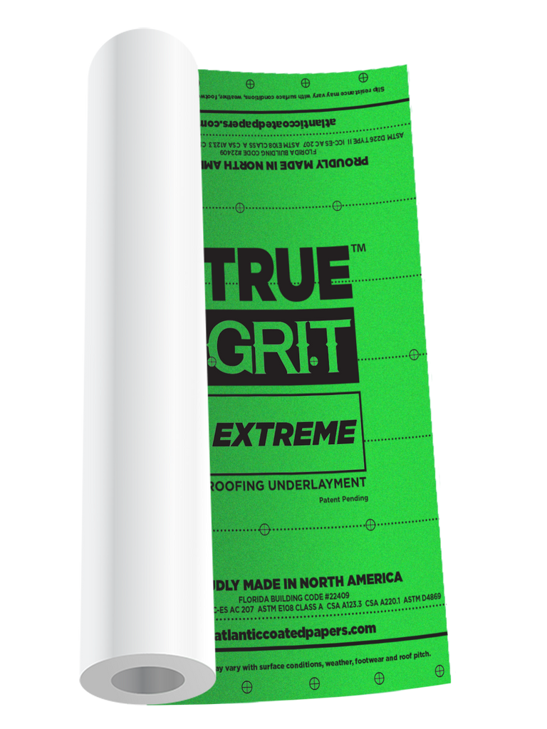 TRUE GRIT™ EXTREME ROOFING UNDERLAYMENT ($57.46/roll 56 roll pallet)