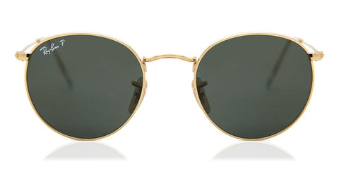 Ray-Ban RB3447 Round Metal Polarized 001/58