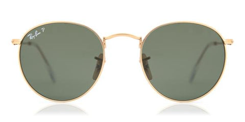 Ray-Ban RB3447 Round Metal Polarized 112/58