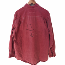Load image into Gallery viewer, Vintage Embroidered Marlboro Work Shirt