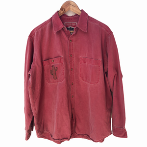 Vintage Embroidered Marlboro Work Shirt