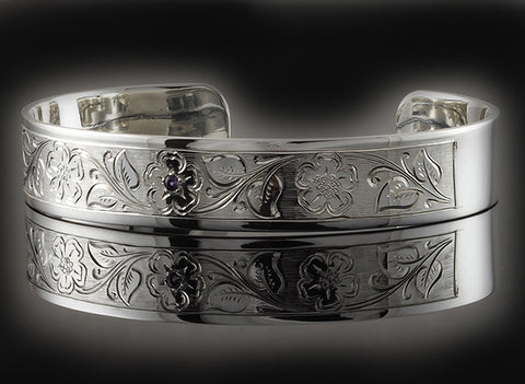 hand engraved bangle
