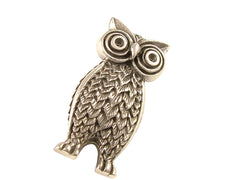Sterling Silver Owl Brooch