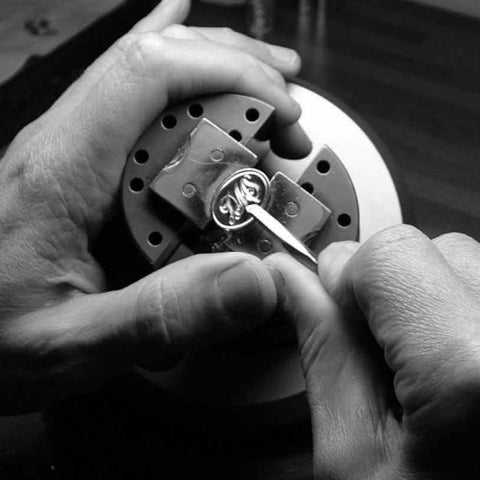 hand engraving cufflinks