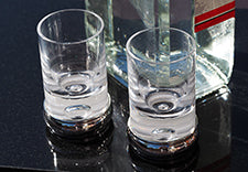 sterling silver shot glasses personalised