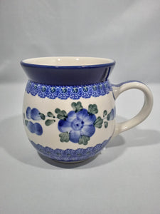 Bubble Mug  ~ 16 oz. ~ Blue Poppy