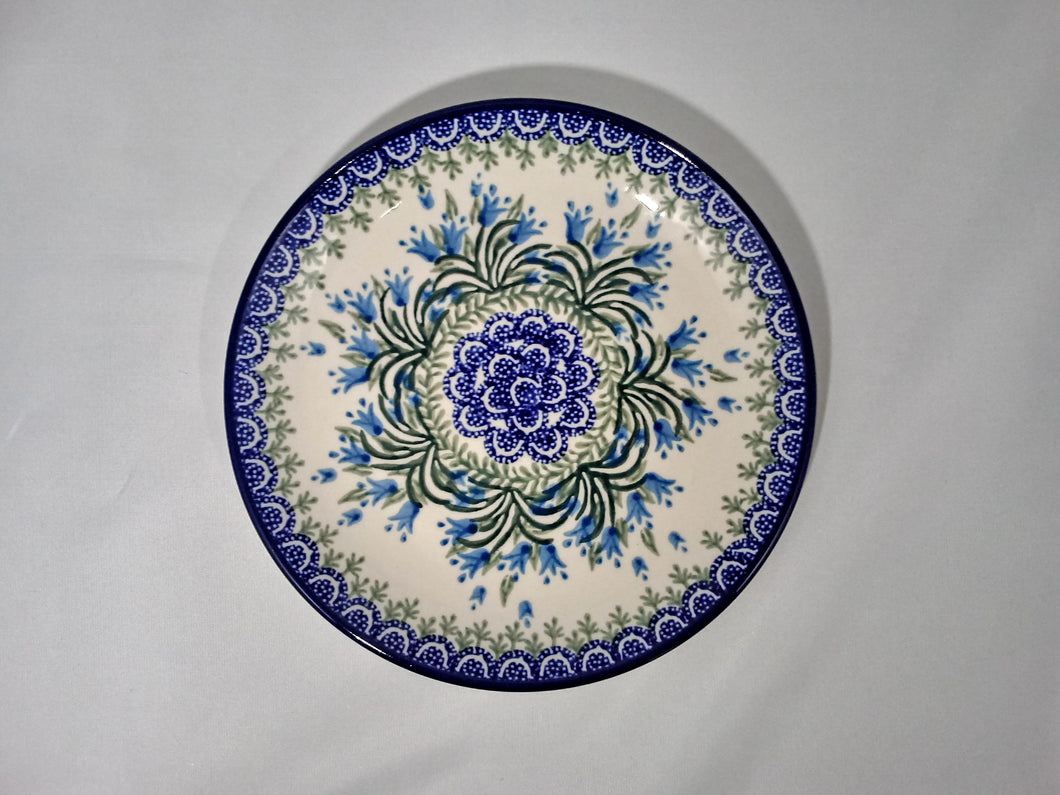 Plate ~ 7.75 inch ~ Blue Bell