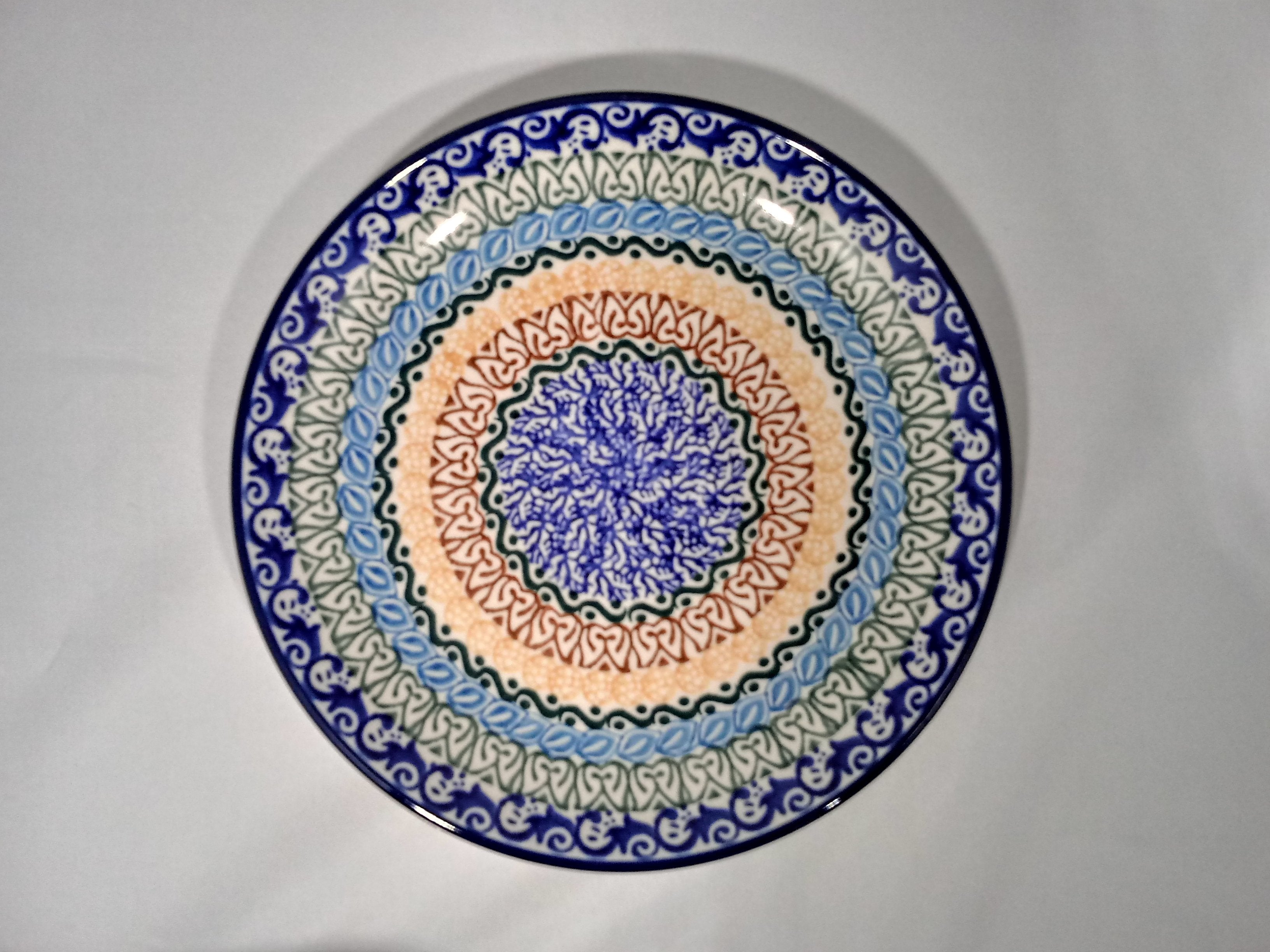 Plate ~ 7.75 inch ~ Blue Moon