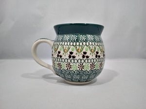 Mug ~ Bubble ~ 11 oz. ~ Green Ribbon