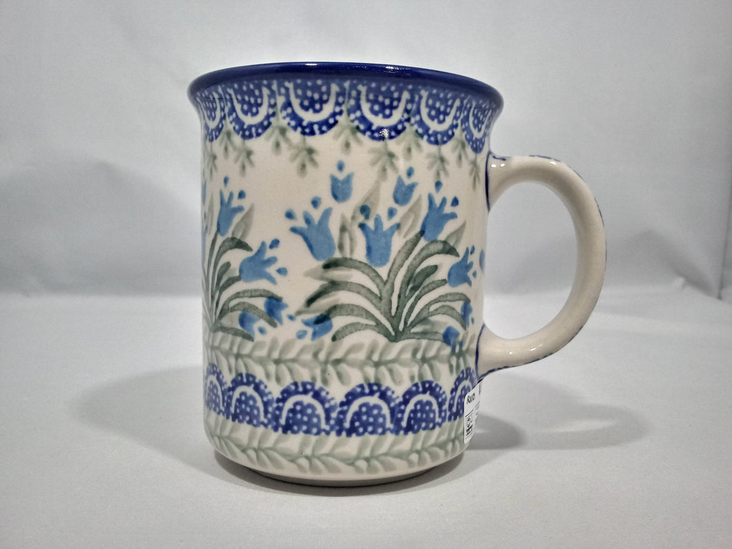 Mug ~ Straight Side ~ 8 oz ~ Blue Bell
