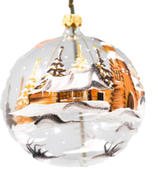 Round Church Ornament