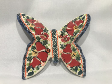 Butterfly Red Green