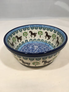 Bowl ~ Soup / Salad / Cereal ~ 6W ~ Brown Horse