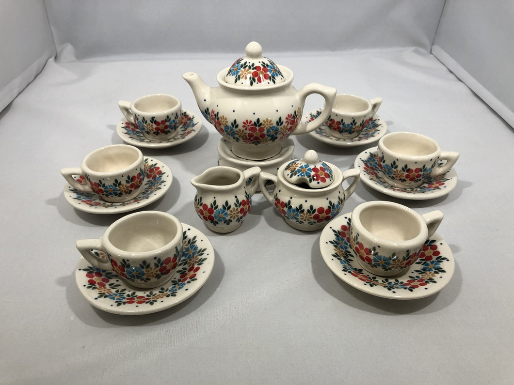 Mini Tea Set Tan