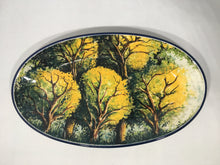 Load image into Gallery viewer, Limited Edition Oval Tray with Trees