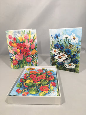 Teresa Liana Art Series: Set of 12 Cards, Original Series