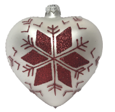 Norwegian Heart Ornament