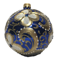 Sapphire and Gold Bauble