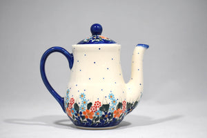 One Cup Teapot Spring Floral
