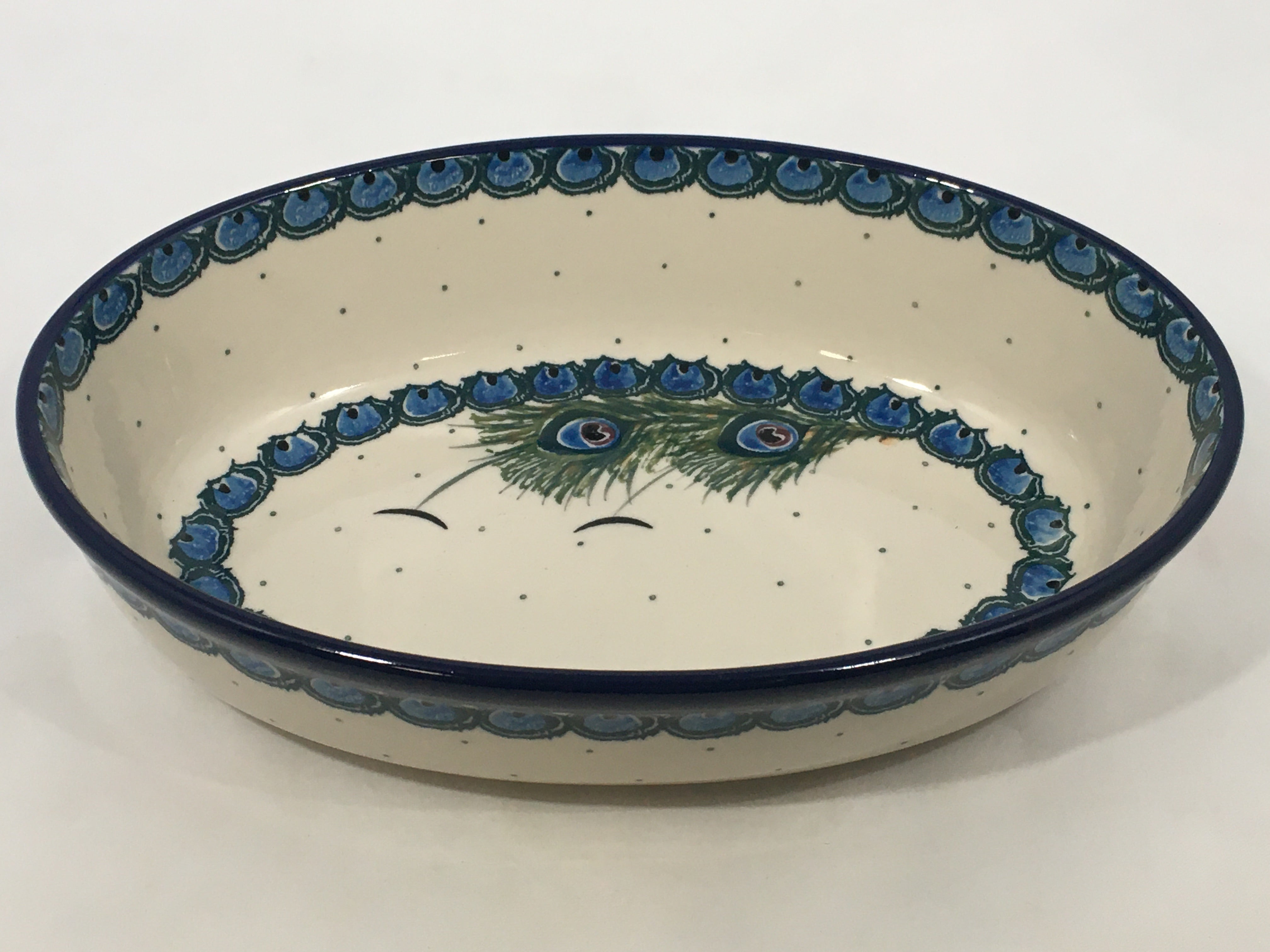 Baker Oval ~ 9.5 inch ~ Art of the Feather
