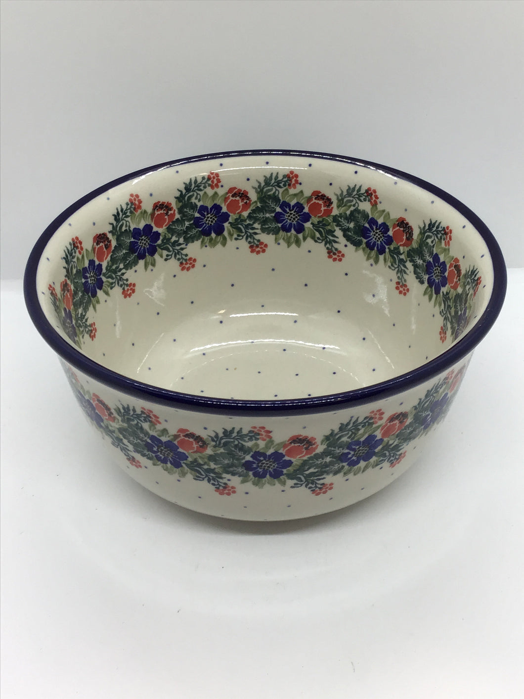 Bowl ~ Serving ~ 8.5W x 4.5D ~ Garden Party