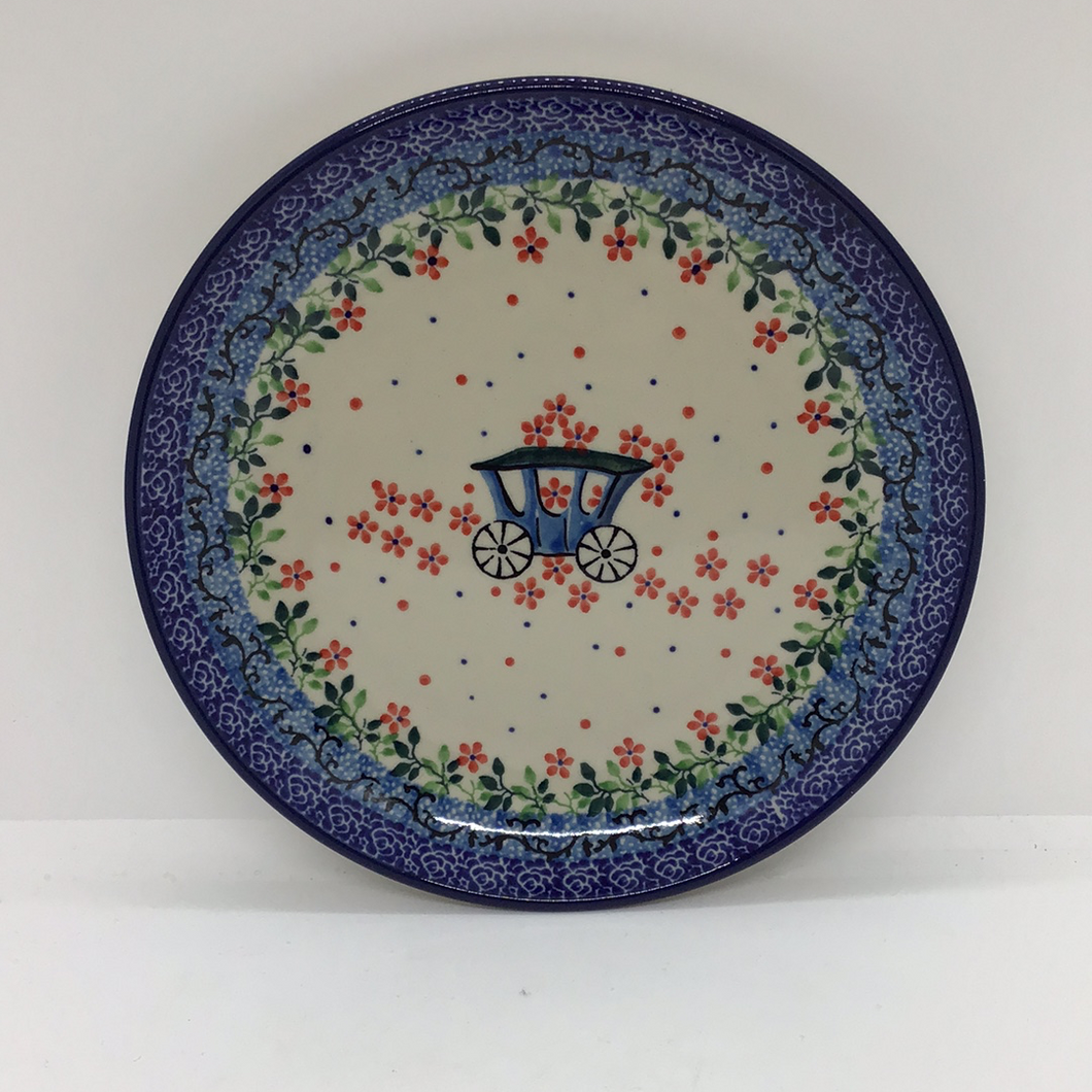 Plate ~ 7.75 inch ~ Carriage