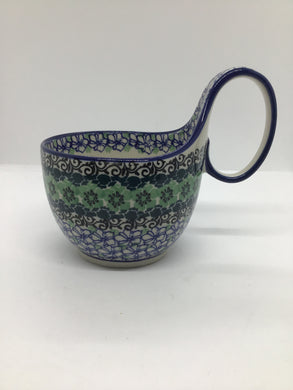 Bowl w/ Loop Handle ~ 16 oz ~ Kiwi