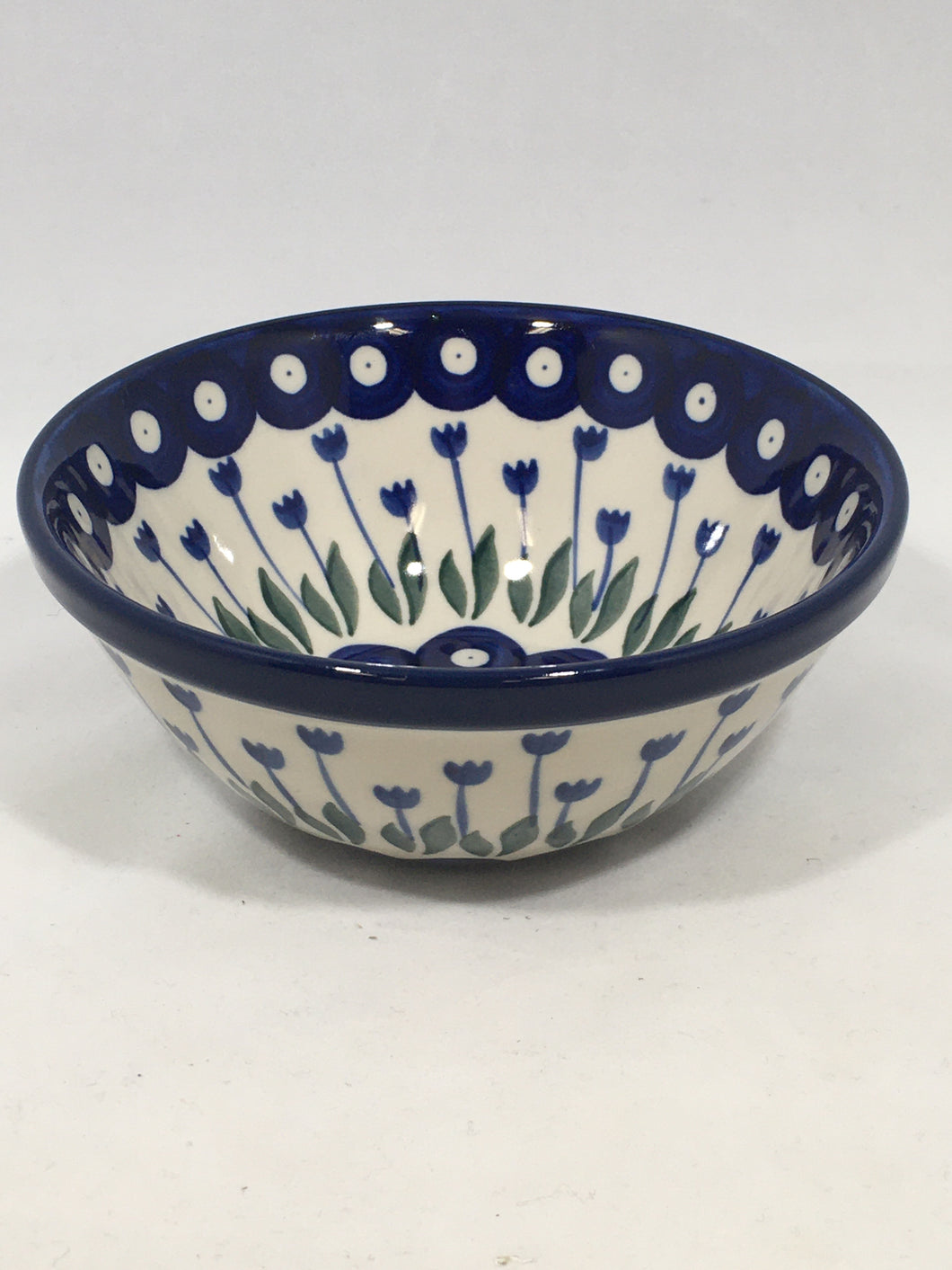 Bowl ~ Nesting Salad/Cereal ~ 5.5 W ~ Bleeding Flower