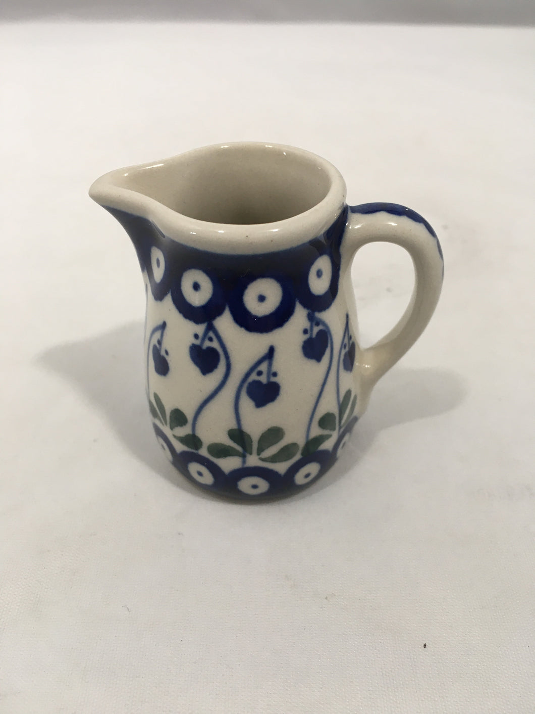 Miniature Jug / Toothpick Holder ~ 2.25 inch ~ Bleeding Heart
