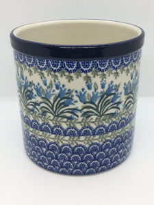 Utensil Holder ~ 5.5 inch ~ Blue Bell