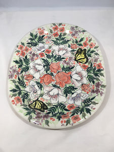 9036 Malwa Large Oblong Plate First Anniversary