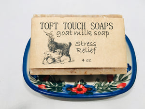 Stress Relief Goat Milk Soap