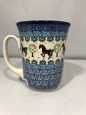 Mug ~ Bistro ~ 16 oz. ~ Brown Horse