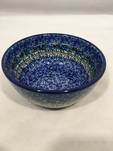 Bowl ~ Ice Cream ~ 4.5 inch ~ Blue Daze